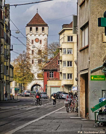The St. Johanns-Gate and its Tower in Basel