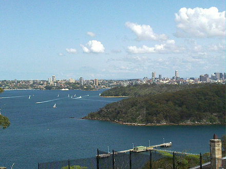 Great view of Sydney