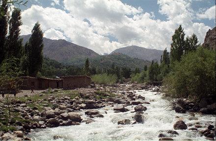 Lutkho River Tributary, Garam Chashma, Pakistan