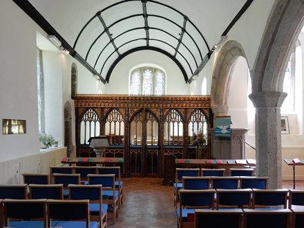 Gidleigh Church (05) Aisle