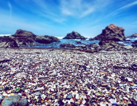Mendocino Glass Beach