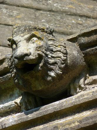glastonbury abbey museum abbot's kitchen detail 2