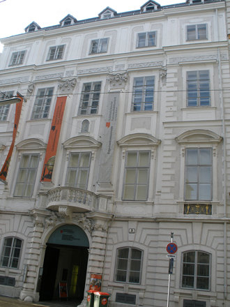 Wien, 1. Bezirk (el arte de las fachadas de Viena) Palais Mollard-Clary - Österreichische Nationalbi