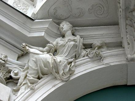 Palais Mollard-Clary Detail, left