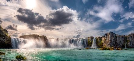 Goðafoss Panorama