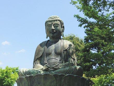 #2384 seated Buddha (濡れ仏)