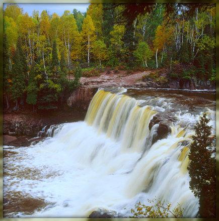 Lower Falls ~ Gooseberry Falls State Park,MN