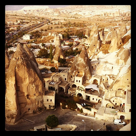 Otherworldly Cappadocia.