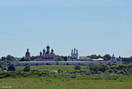 Goritsky Monastery. Pereslavl' Zalessky. XIV AD. Горицкий монастырь. Переславль Залесский.