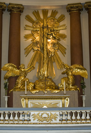 Altar of the Gothenburg Cathedral