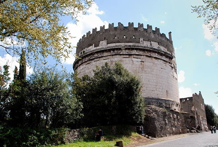Cecilia Metella Tomb - Appian Way - Rome
