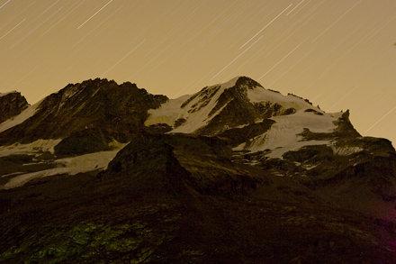 gran paradiso star trail