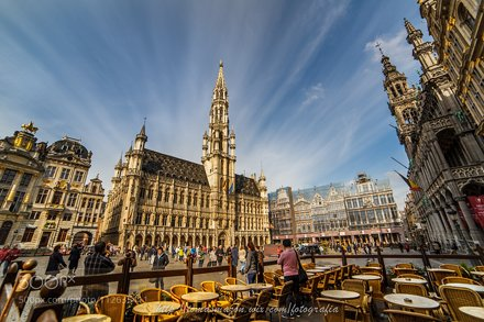 Grand Place Clouds