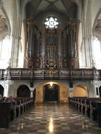 Cathedral in Graz in Austria