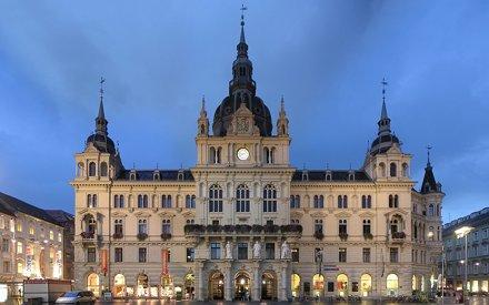 Grazer Rathaus - Graz, Austria