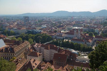 Stadtansicht Graz
