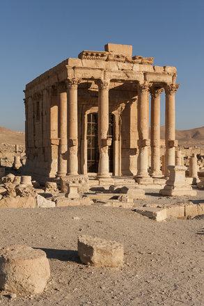 Palmyra XXIX: Around the Temple of Baal-Shamin.