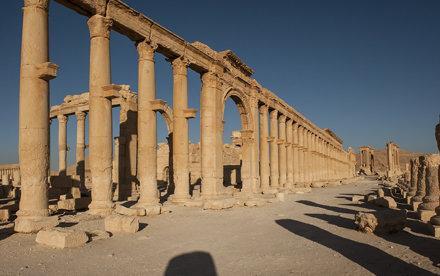 Palmyra V: The Great Colonnade