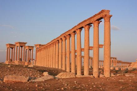 Palmyra, tetrapylon