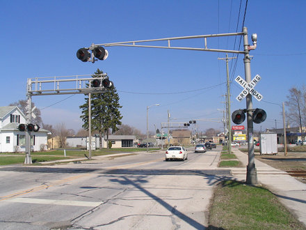 Custer St. crossings, Manitowoc, WI