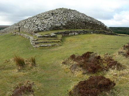 Grey Cairns of Camster - Neolithic