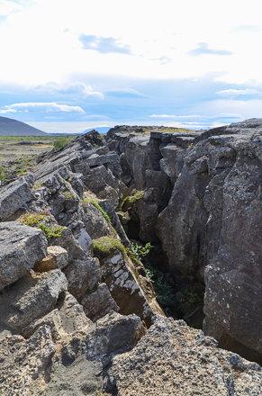 Grjótagjá und Stóragjá - Island