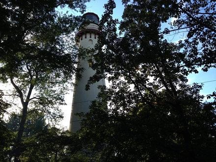 Grosse Point light house.
