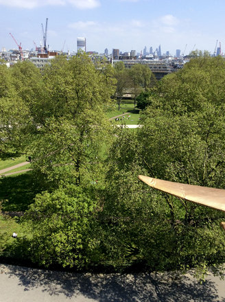 An eagle's eye view of Grosvenor Square.
