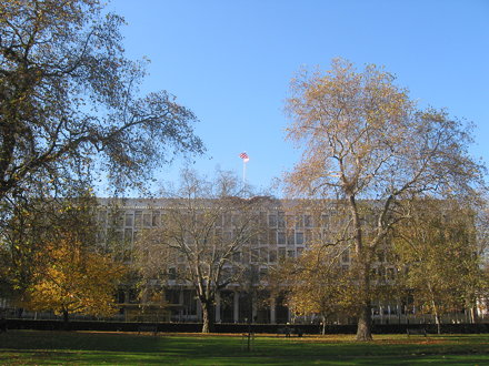 Embassy from Grosvenor Square