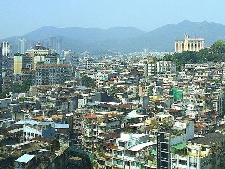 Landscape of Macau old town