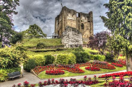 Guildford Castle HDR