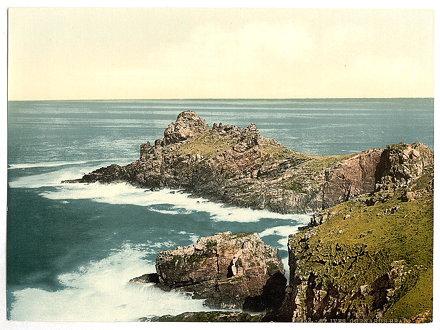 [St. Ives, Gurnard's Head, Cornwall, England]  (LOC)