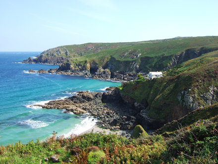 Coast near Gurnard's Head, Cornwall