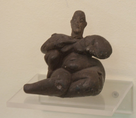Neolithic Mother Goddess Figurine Museum of Anatolian Civilization