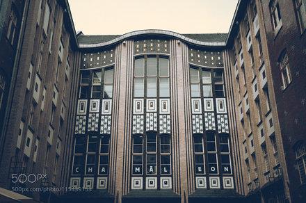 Hackeschen Höfe - Fassade im 1. Hof, Westseite