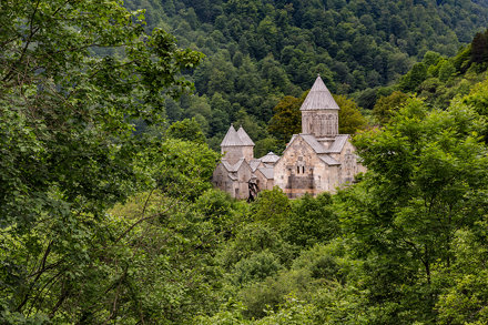 Church in the mountains of Dilijan