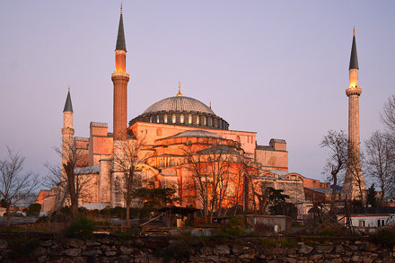 Hagia Sophia / dawn