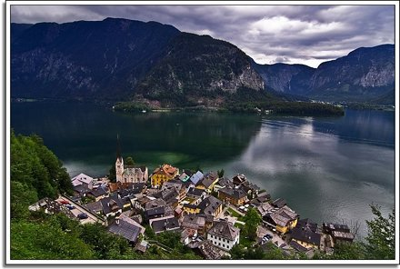Helluva View Over Hallstatt
