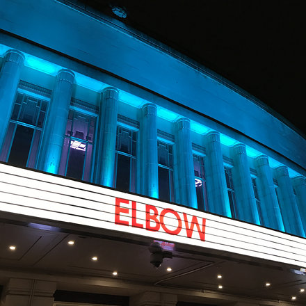 Elbow live, Hammersmith Apollo