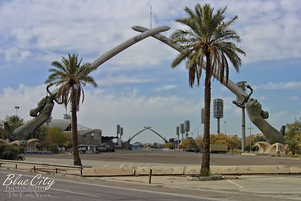 Crossed Swords Monument (Sabre Arches), Baghdad, Iraq