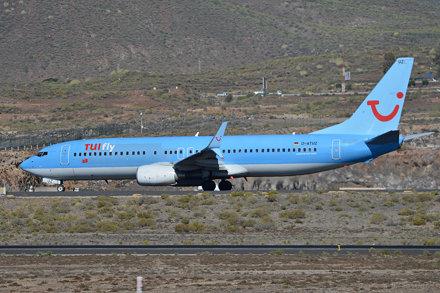 Boeing 737-8K5(w) 'D-ATUZ' TUIfly