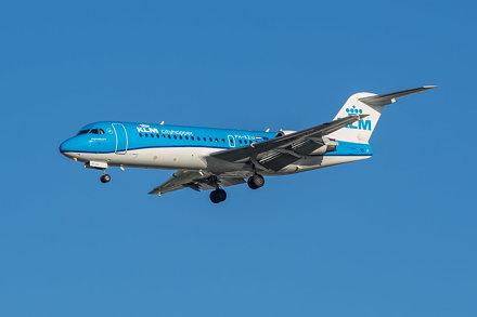 Fokker 70 - KLM Cityhopper PH-KZU - AMS/EHAM Amsterdam Airport (Schiphol)