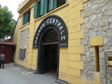 Entrance to Hao Lo Prison, Hanoi