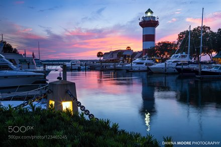 Harbour Town Sunset, Hilton Head Island, South Carolina