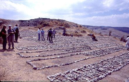 Boğazköy, Turkey.  Sherd sorting area at Büyükkaya.