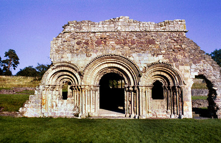 Haughmond Abbey - an Augustinian Abby