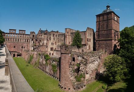 Heidelberg Castle pano