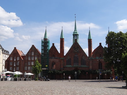 Heiligen-Geist-Hospital - Lübeck {juli 2013}
