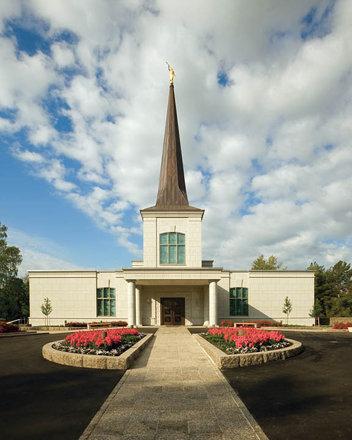 Mormon Temple Helsinki Finland