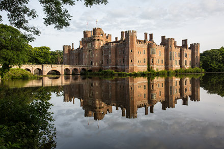 Reflections of Herstmonceux Castle